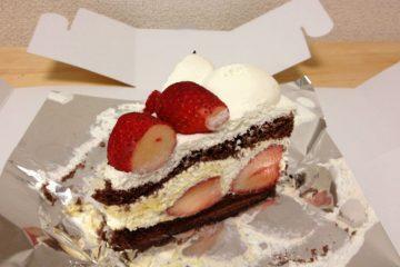 HARBSの「ストロベリーチョコレートケーキ」を食す!
