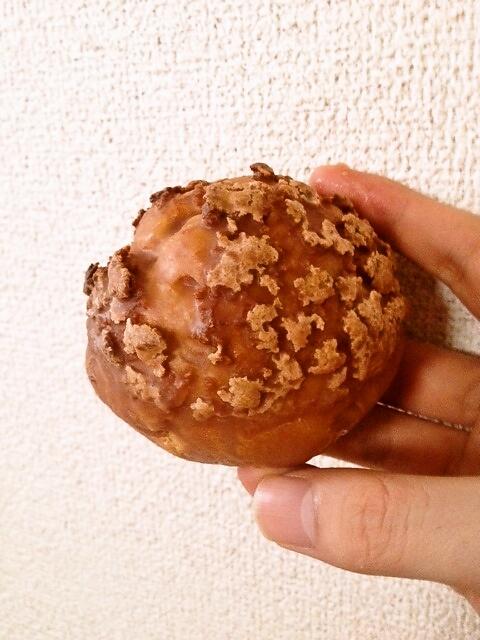 袋から出したプレミアムクッキーシュー