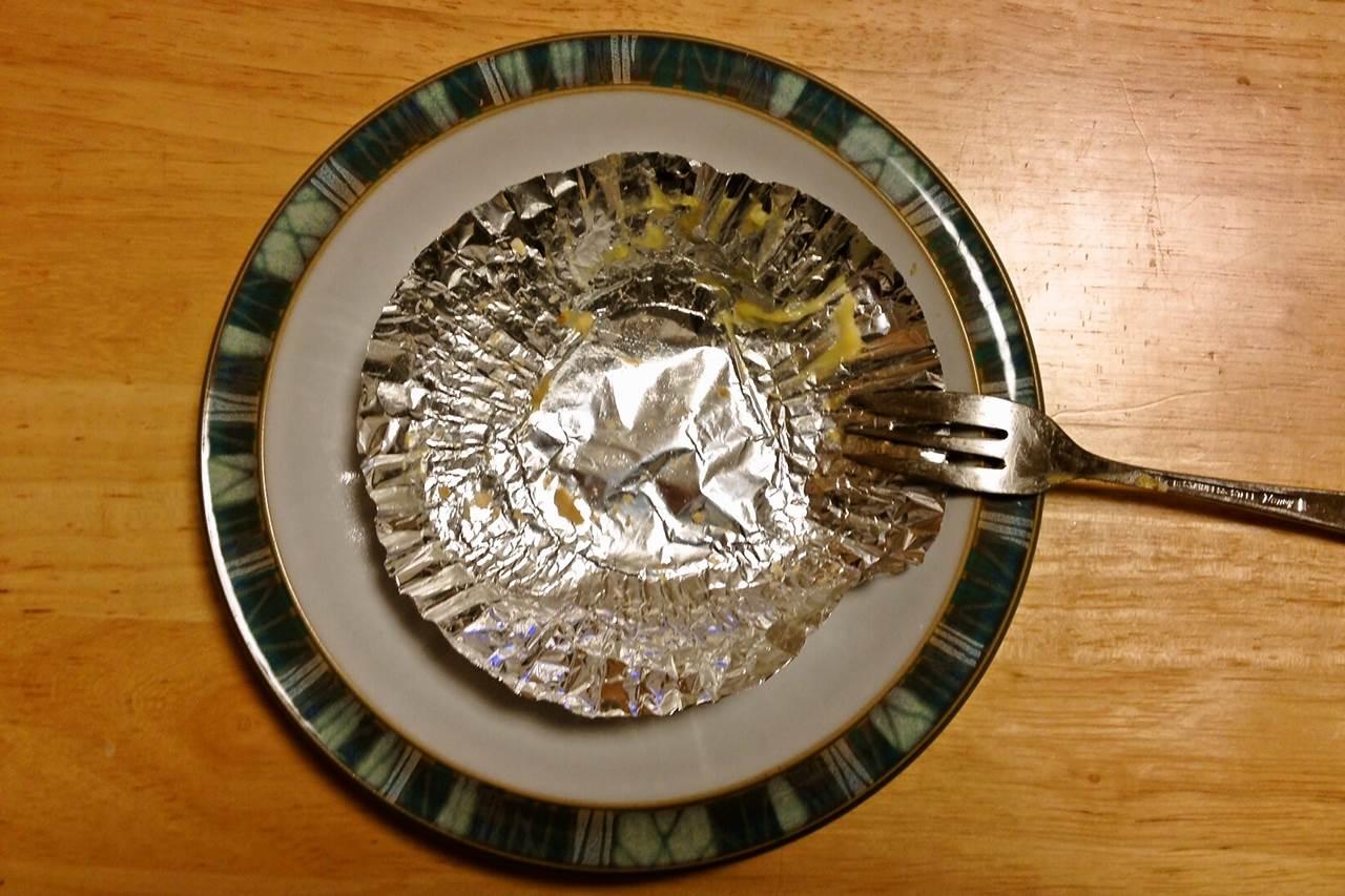 完食後のお皿