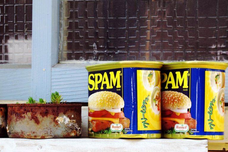 スパムの画像