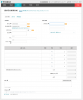 Misoca請求書の新規作成画面